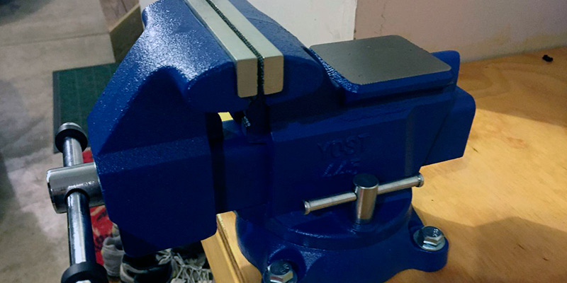 Yost Tools 445 Utility Combination Pipe and Bench Vise application