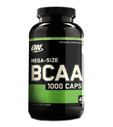 Optimum Nutrition 1000mg, 400 Count Instantized BCAA Capsules