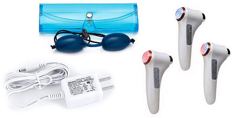 NORLANYA GESS627 Photon Ultrasonic Ionic Face Massager in the use