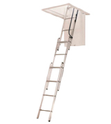 Werner AA1510 Aluminum Attic Ladder