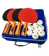 JP WinLook 4 Pack Ping Pong Paddle