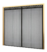 Mkicesky QSMK10005 72x80, Magnetic Screen Door for French Doors