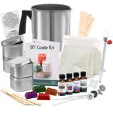 DilaBee DIY Candle Kit Create Large Scented Soy Candles