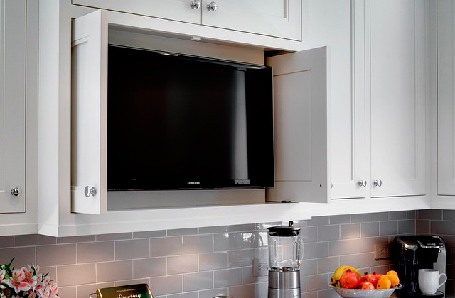 Best Small TVs for Kitchen & Bathroom