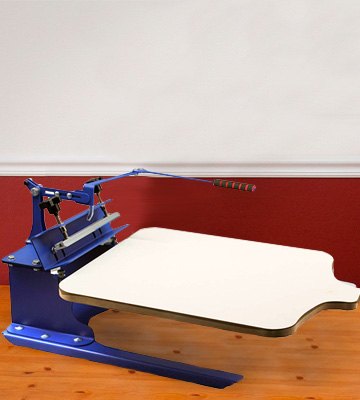 Review of INTBUYING 21.7 x 17.7 Screen Printing Machine