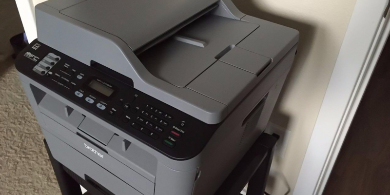 Review of Brother MFC-L2710DW Compact Monochrome Laser All-in-One Multifunction Printer