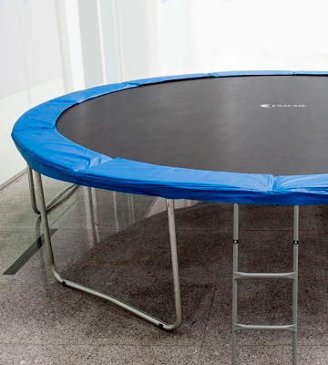 Review of Exacme Combo Set Trampoline with Safety Pad