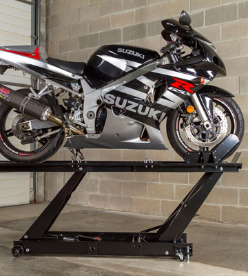 Review of Rage Powersports BW-SK-E Motorcycle Lift Table with Accessorizes