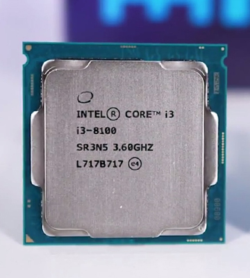 Review of Intel Core i3-8100 8th Gen Desktop Processor, up to 3.6GHz