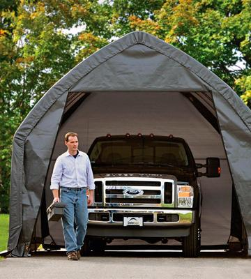 Review of ShelterLogic Garage and Shelter Series SUV and Truck Garage-In-A-Box