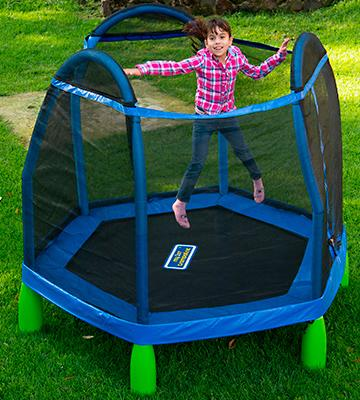 Review of Bounce Pro My First Trampoline 84""