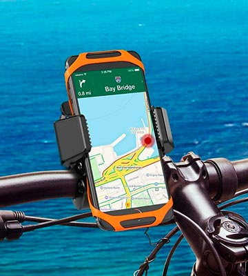 Review of TaoTronics TT-SH003 Bike Phone Mount