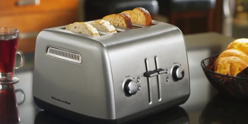 Review of KitchenAid KMT4115CU Toaster with Manual High-Lift Lever