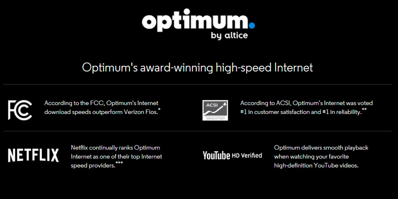 Review of Optimum Internet Provider: TV, Internet, WiFi and Streaming Apps All In One