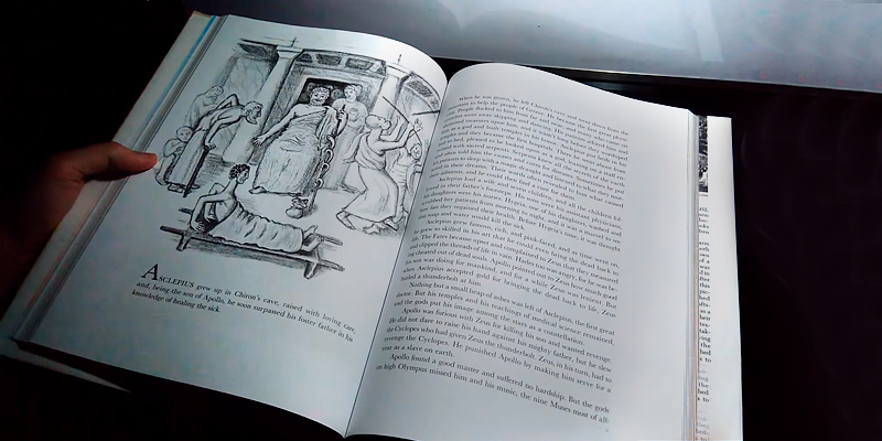 Ingri d'Aulaire Illustrated D'Aulaires' Book of Greek Myths in the use