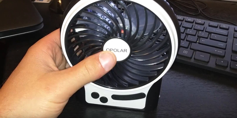 Review of OPOLAR F201 Personal Battery Operated Fan