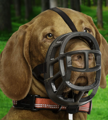 Review of BASKERVILLE Ultra Rubber Basket Dog Muzzle