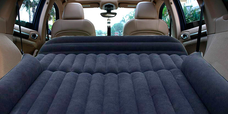 Review of Berocia SUV Air Mattress Thickened Car Bed Inflatable Air Mattress