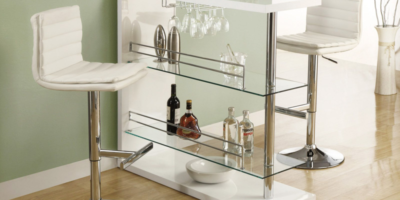 Review of Coaster Home Furnishings Table with Two Glass Shelves