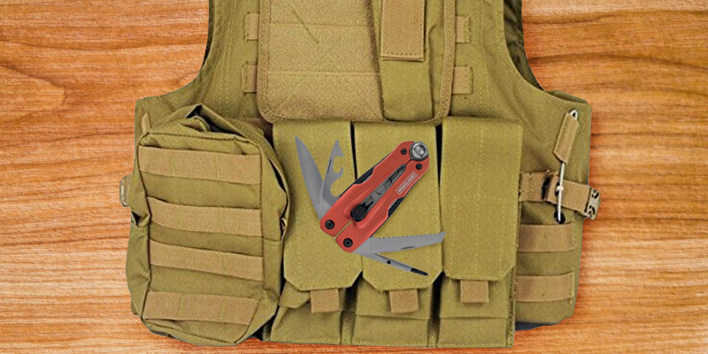 Dock Tactical Molle Airsoft Vest application