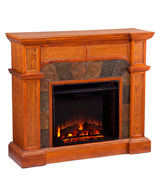 Southern Enterprises FA9285E Electric Fireplace with TV Stand
