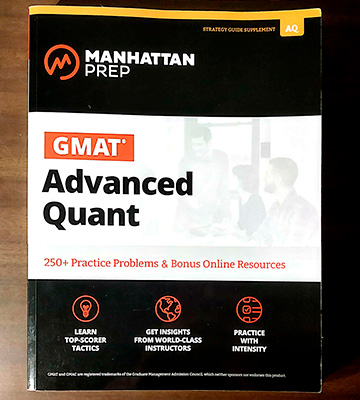 Review of Manhattan Prep 250+ Practice Problems & Bonus Online Resources GMAT Advanced Quant