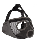 JYHY Breathable Short Snout Dog Muzzles for Biting Chewing Barking