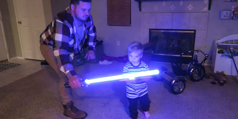 Star Wars Anakin to Darth Vader Lightsaber Toy application