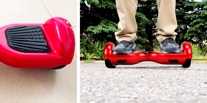 Review of Skque Self Balancing Scooter Hoverboard with Bluetooth Speaker and LED Lights