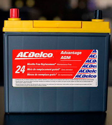 Review of ACDelco ACDB24R Advantage AGM Car Battery (45 Ah, 325 Amp)