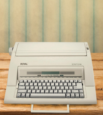 Review of Royal 69147T Electronic Typewriter