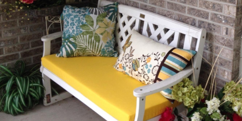 Review of Pillow Perfect Fresco Bench Cushion