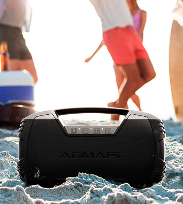 Review of AOMAIS GO (AS-F5) Indoor/Outdoor Bluetooth Boombox