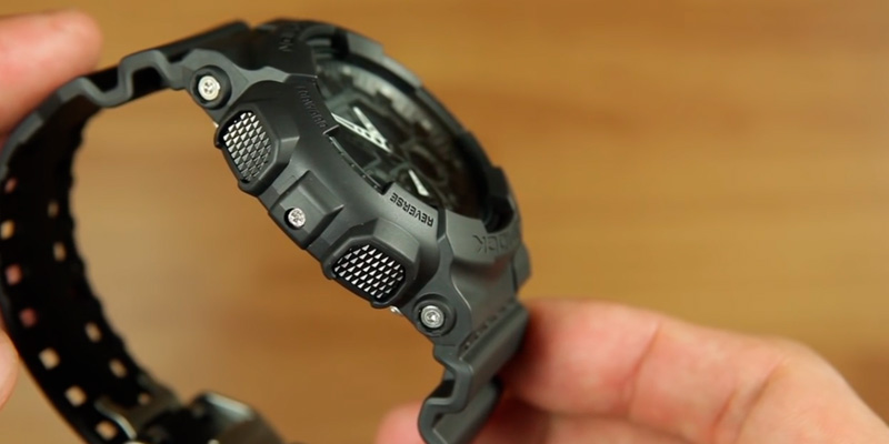 Review of Casio G-SHOCK GA100-1A1 Military Series Watch