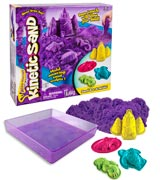 Kinetic Sand Kinetic Sand with Sandbox and Molds
