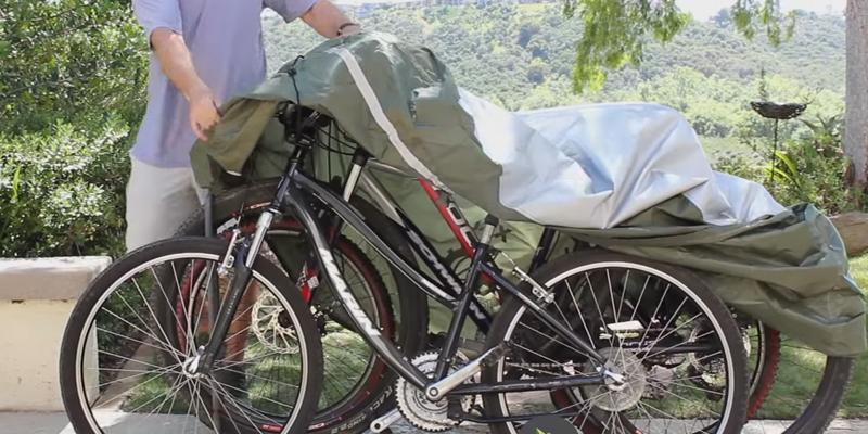 Review of YardStash Bicycle Cover XXL for 2-3 Bikes