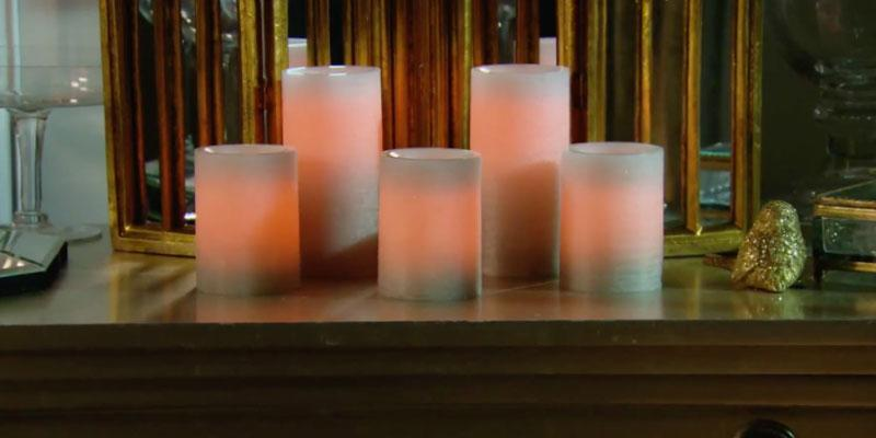 Review of Northern International Flameless Candle Set