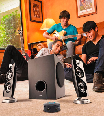 Review of Cyber Acoustics CA-3602 Speaker Sound System with Subwoofer and Control Pod