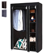 SONGMICS ULSF007 43'' Portable Clothes Closet Wardrobe
