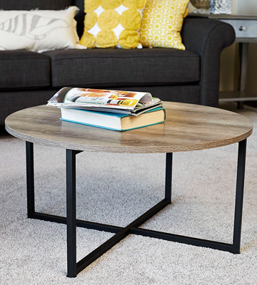 Review of Household Essentials 8079-1 Round Coffee Table
