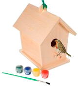 Toysmith 2953 Wooden Bird House