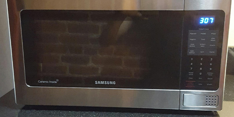 Review of Samsung MG11H2020CT Countertop Grill Microwave Oven