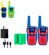 Topsung Rechargeable Long Range Walkie Talkies
