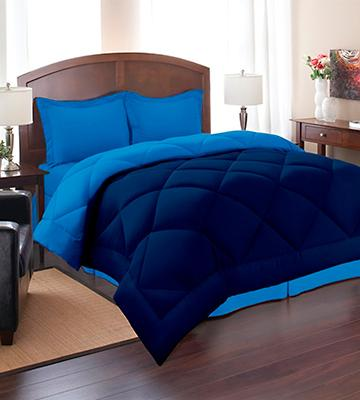 Review of Elegant Comfort Goose Down Alternative Reversible Comforter Set