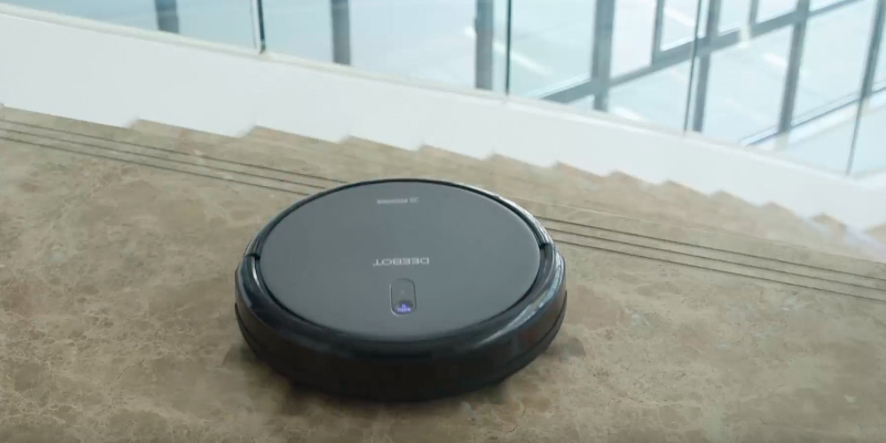 Ecovacs DEEBOT N79 Robotic Vacuum Cleaner in the use