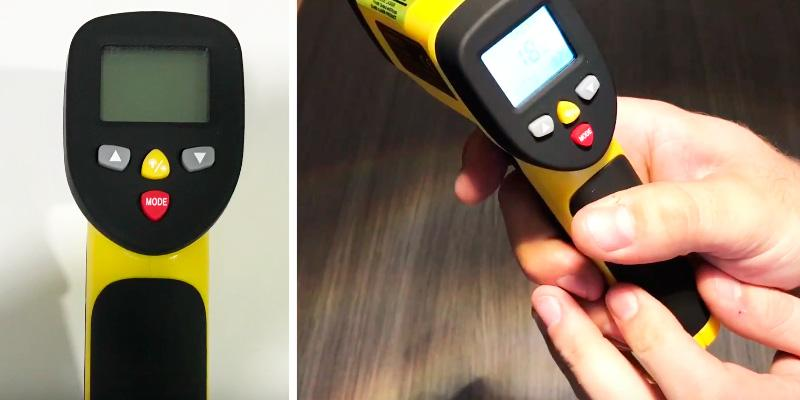 Detailed review of Avantek TG-3Y Dual Laser Infrared Thermometer
