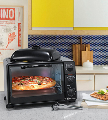 Review of Elite ERO-2008S Countertop XL Toaster Oven with Rotisserie