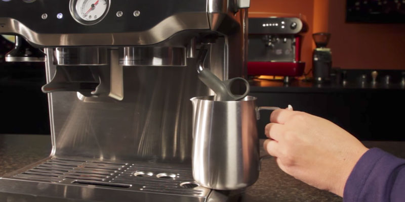 breville bes870xl barista express espresso machine manual
