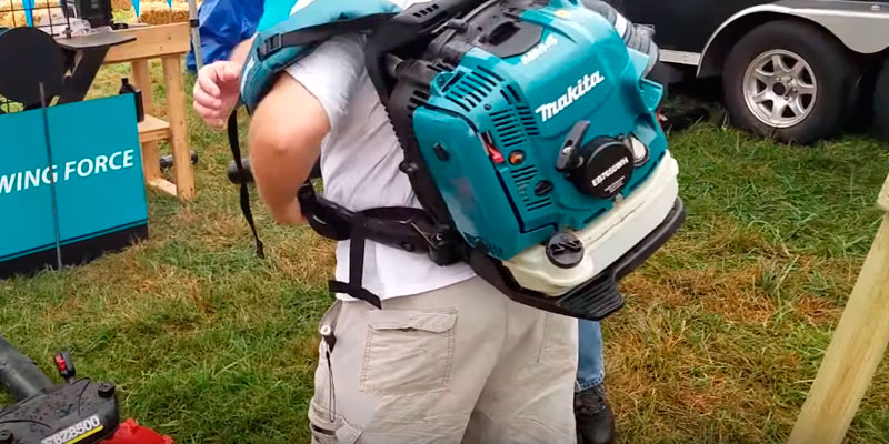 Detailed review of Makita EB7650WH Hip Throttle Backpack Blower