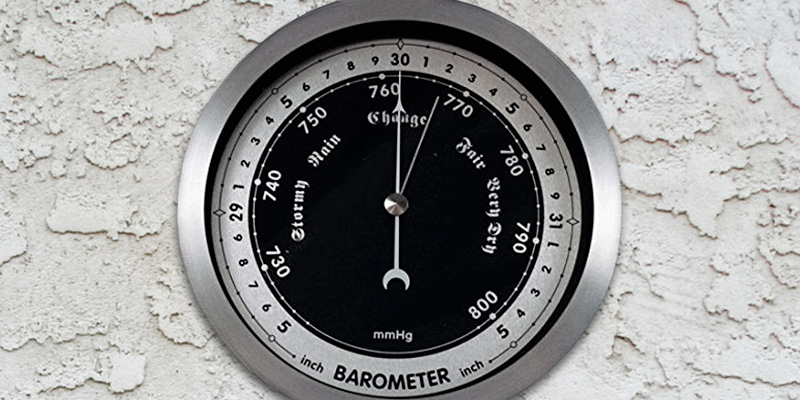 "Review of Ambient Weather WS-152B 6"" Contemporary Barometer"
